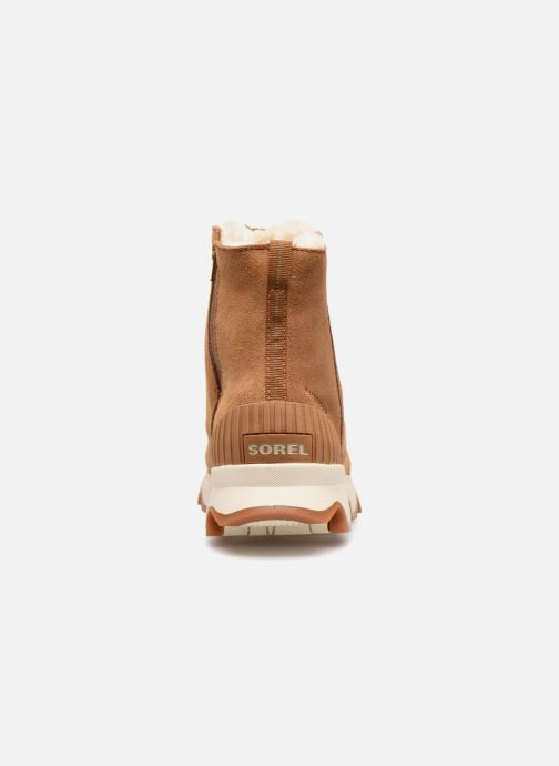 Ankle boots Sorel Kinetic Short Brown view from the right