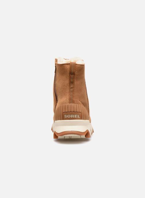 Bottines et boots Sorel Kinetic Short Marron vue droite