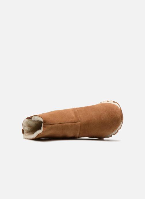 Bottines et boots Sorel Kinetic Short Marron vue gauche