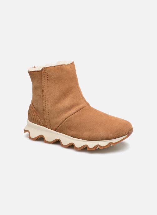 Bottines et boots Sorel Kinetic Short Marron vue détail/paire