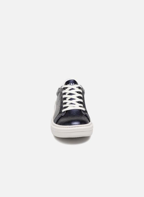 Baskets No Name SISTA TENNIS AQUADILLA Bleu vue portées chaussures