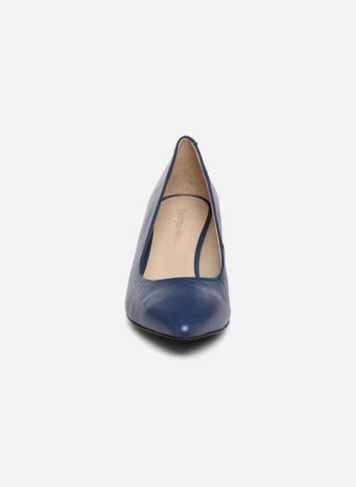 Zapatos de tacón Georgia Rose Rosalie Azul vista del modelo