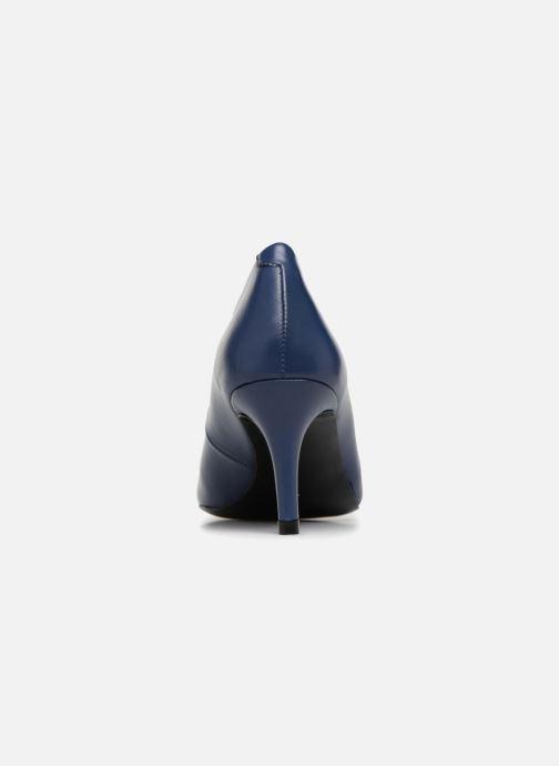 Zapatos de tacón Georgia Rose Rosalie Azul vista lateral derecha