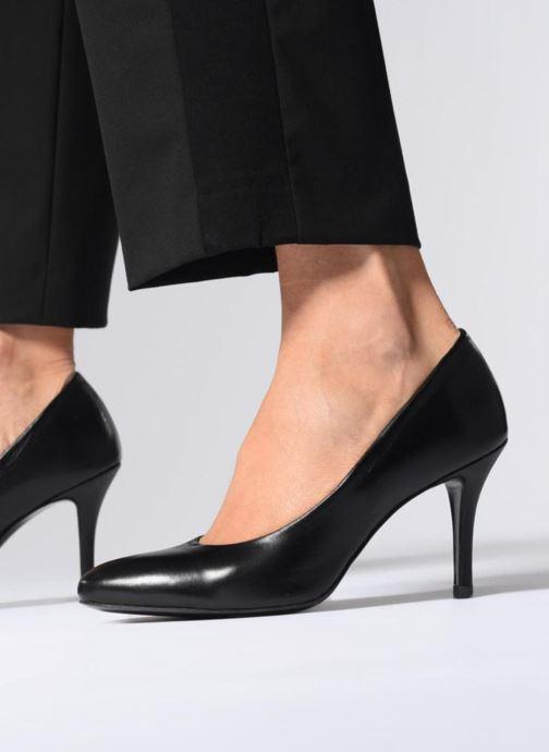 Zapatos de tacón Georgia Rose Renarda Negro vista de abajo