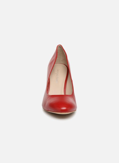Escarpins Georgia Rose Renarda Rouge vue portées chaussures