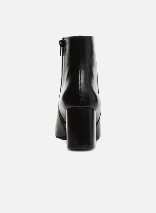 Ankle boots Georgia Rose Remonta Black view from the right