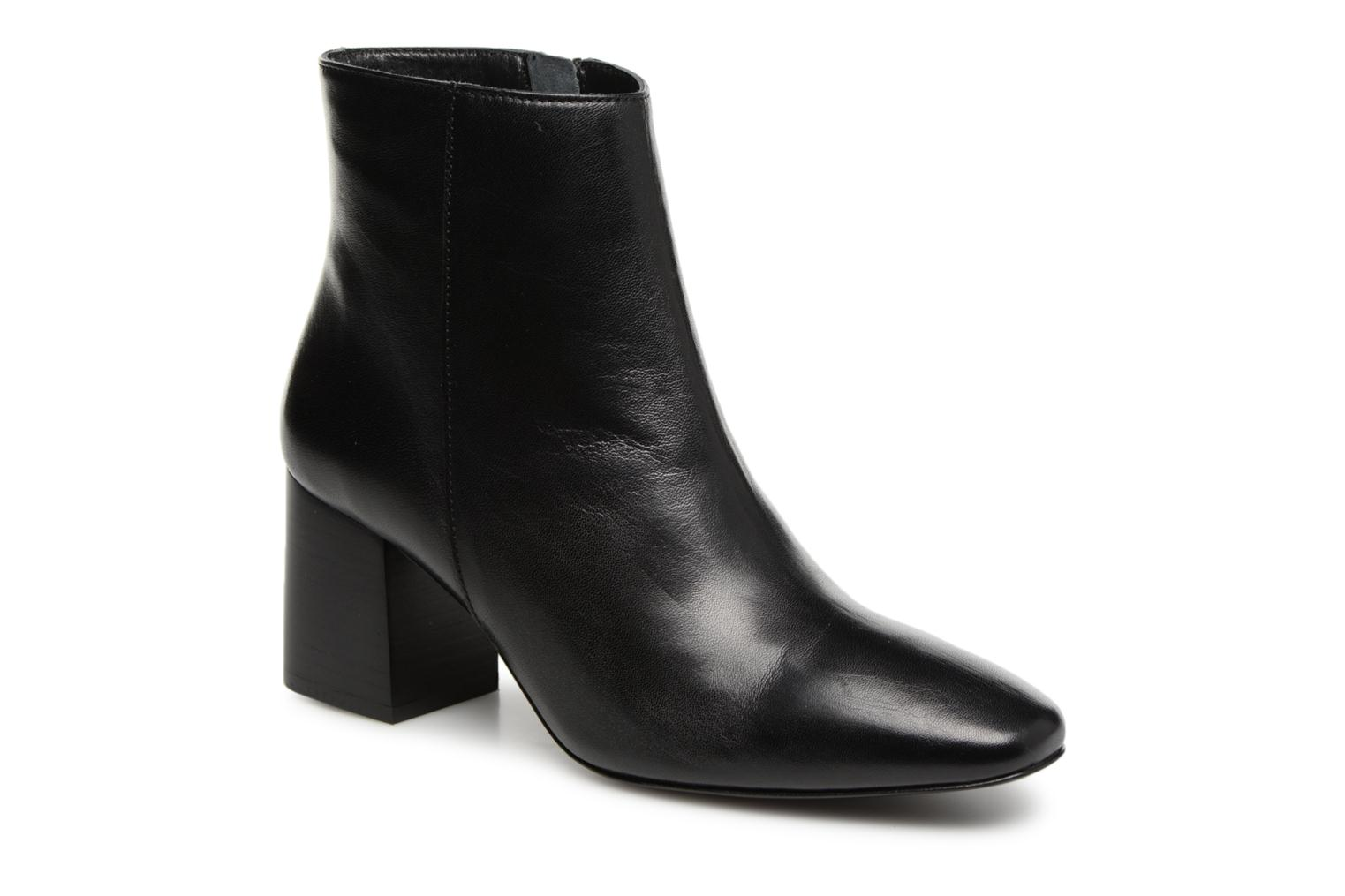 Ankle boots Georgia Rose Remonta Black detailed view/ Pair view