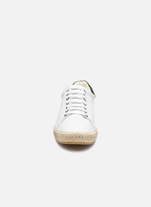 Baskets Canal St Martin BICHAT Blanc vue portées chaussures
