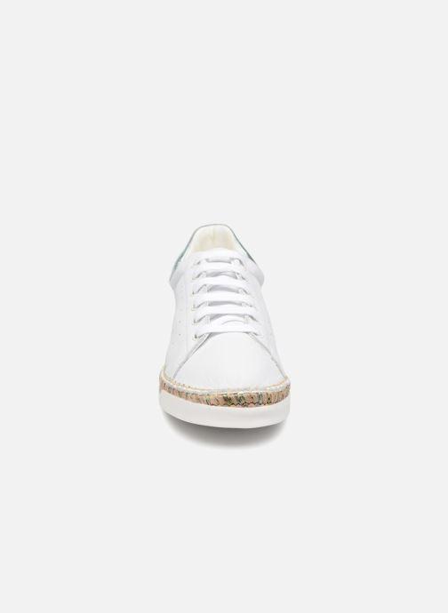 Baskets Canal St Martin LANCRY BIS Blanc vue portées chaussures