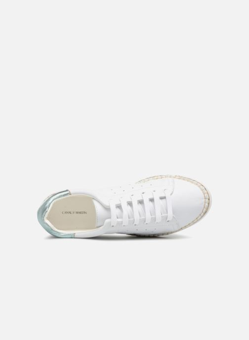 Sneakers Canal St Martin LANCRY BIS Bianco immagine sinistra