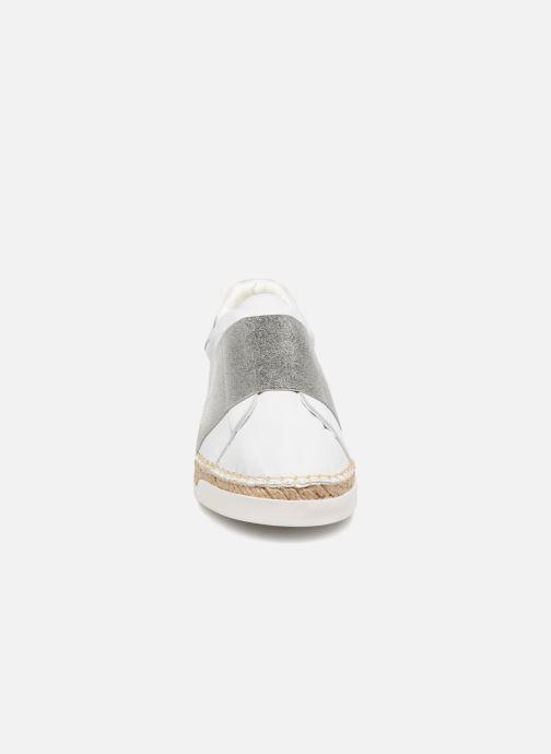 Baskets Canal St Martin LANCRY ELASTIQUE Blanc vue portées chaussures