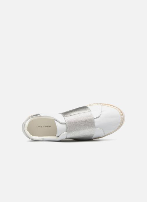Canal St Martin LANCRY ELASTIQUE (Bianco) - scarpe da ginnastica ginnastica ginnastica chez | In Linea  93d197