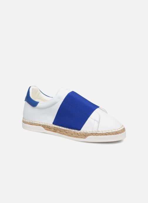 Sneakers Canal St Martin LANCRY ELASTIQUE Hvid detaljeret billede af skoene