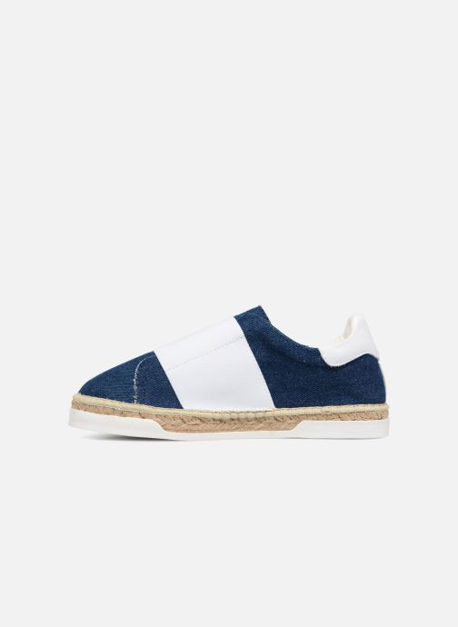 Sneakers Canal St Martin LANCRY ELASTIQUE Bianco immagine frontale
