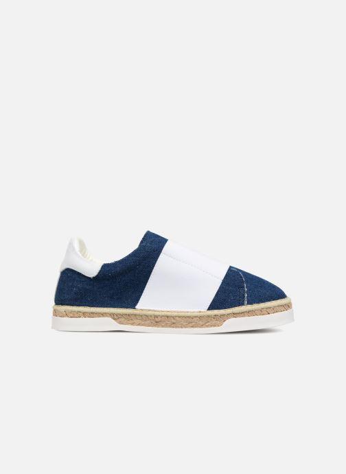 Sneakers Canal St Martin LANCRY ELASTIQUE Hvid se bagfra
