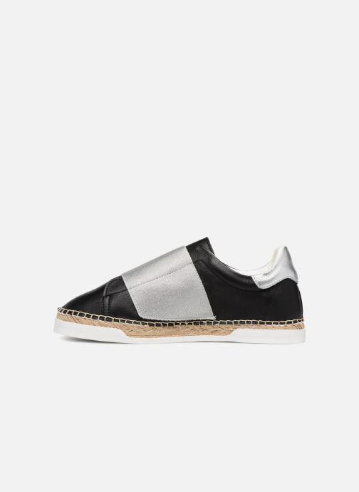 Sneaker Canal St Martin LANCRY ELASTIQUE schwarz ansicht von vorne
