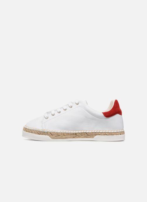 Sneaker Canal St Martin LANCRY FELURS weiß ansicht von vorne
