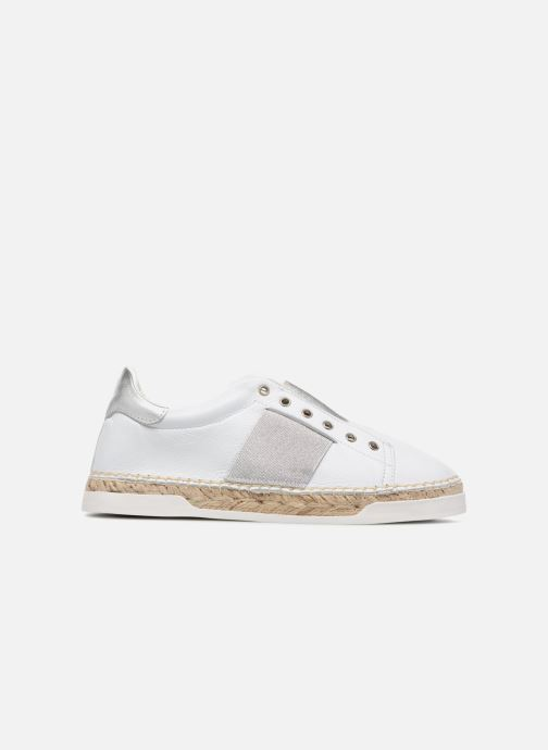 Trainers Canal St Martin LANCRY HYBRIDE White back view