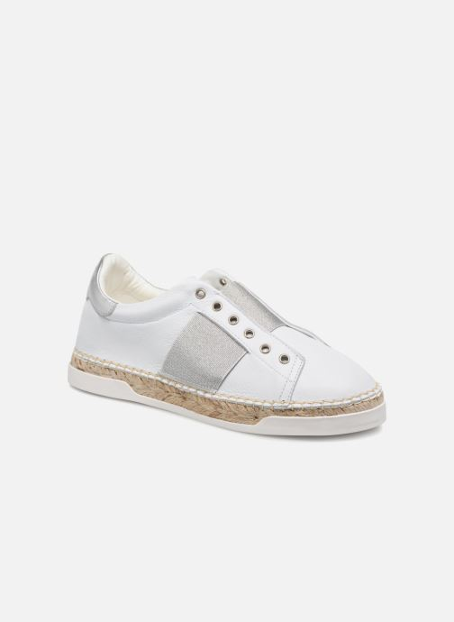 Trainers Canal St Martin LANCRY HYBRIDE White detailed view/ Pair view