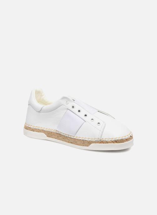 Sneakers Canal St Martin LANCRY HYBRIDE Hvid detaljeret billede af skoene