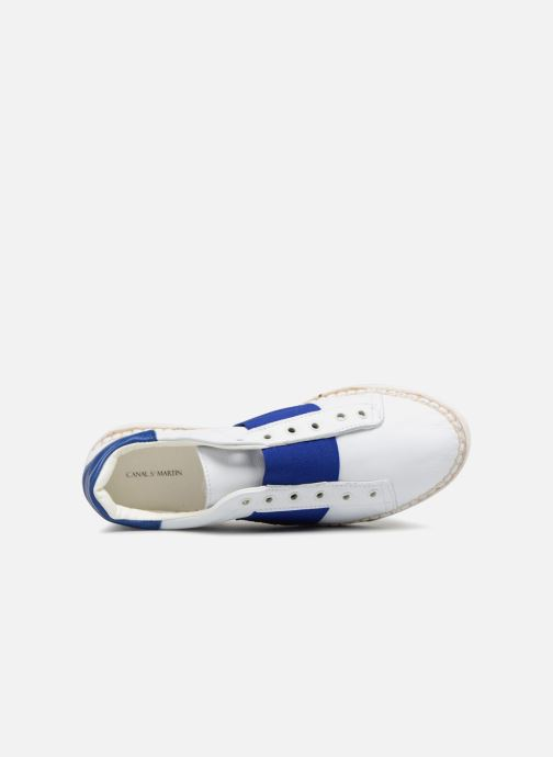 Sneakers Canal St Martin LANCRY HYBRIDE Bianco immagine sinistra