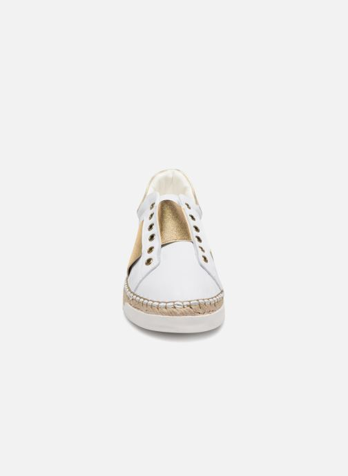Baskets Canal St Martin LANCRY HYBRIDE Blanc vue portées chaussures