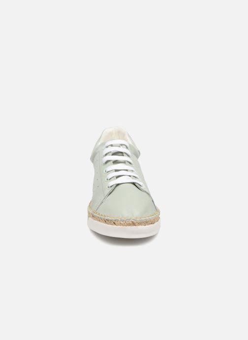 Baskets Canal St Martin LANCRY PE18 Bleu vue portées chaussures