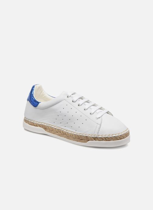 Trainers Canal St Martin LANCRY PE18 White detailed view/ Pair view