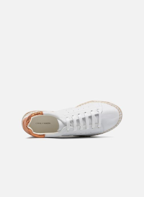 Sneakers Canal St Martin LANCRY PE18 Bianco immagine sinistra