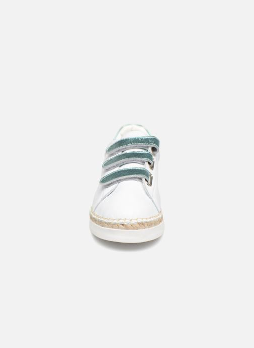 Trainers Canal St Martin LANCRY SCRATCH White model view