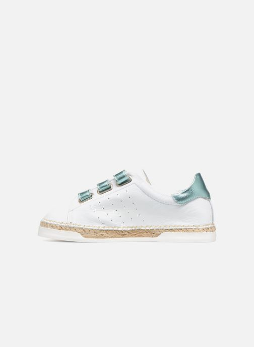 Trainers Canal St Martin LANCRY SCRATCH White front view