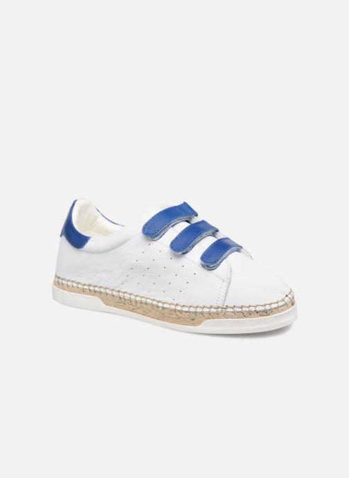 Sneakers Canal St Martin LANCRY SCRATCH Hvid detaljeret billede af skoene