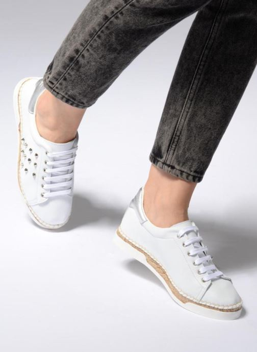 Sneakers Canal St Martin LANCRY STUDS Bianco immagine dal basso
