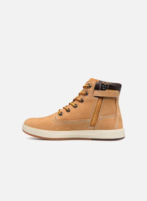 Boots en enkellaarsjes Timberland Davis Square 6 Inch Boot Bruin voorkant
