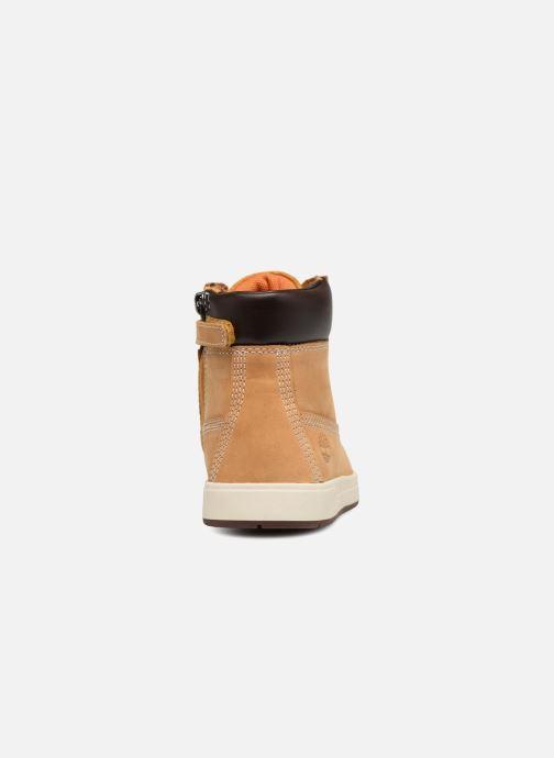 Boots en enkellaarsjes Timberland Davis Square 6 Inch Boot Bruin rechts