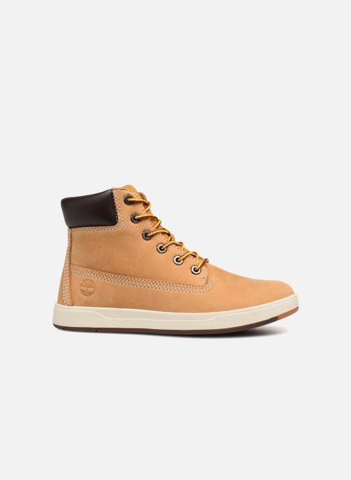 Boots en enkellaarsjes Timberland Davis Square 6 Inch Boot Bruin achterkant