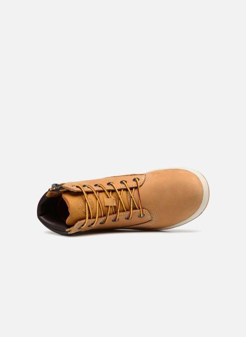 Stivaletti e tronchetti Timberland Davis Square 6 Inch Boot Marrone immagine sinistra