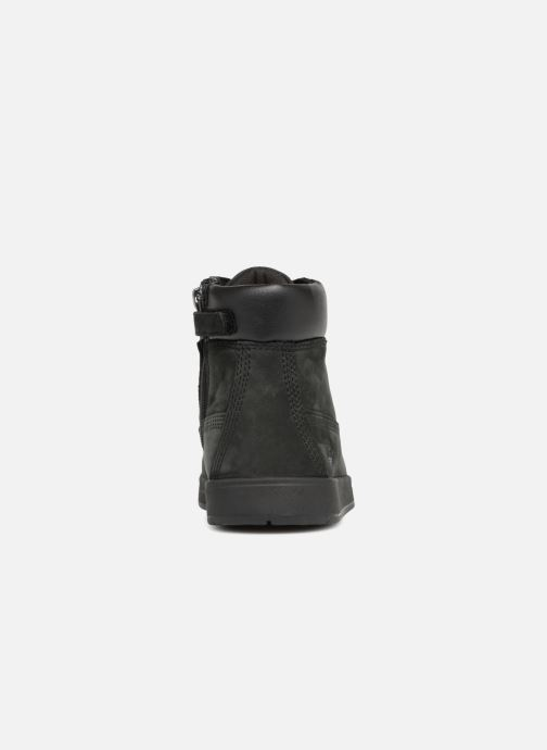Ankle boots Timberland Davis Square 6 Inch Boot Black view from the right