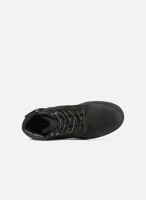 Bottines et boots Timberland Davis Square 6 Inch Boot Noir vue gauche