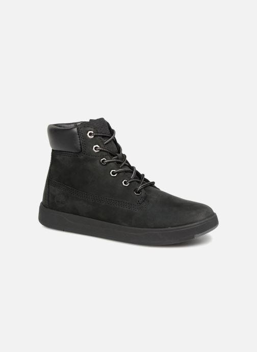 Ankelstøvler Timberland Davis Square 6 Inch Boot Sort detaljeret billede af skoene