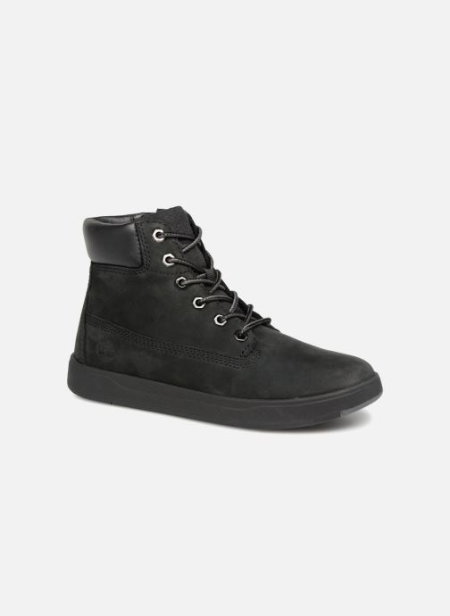 Bottines et boots Timberland Davis Square 6 Inch Boot Noir vue détail/paire