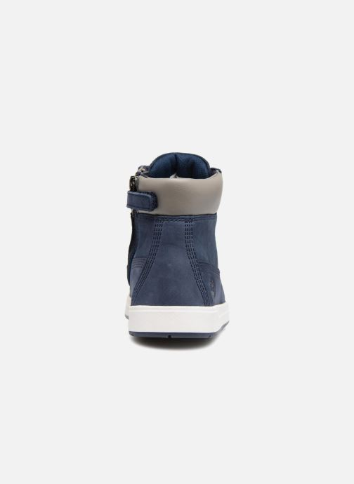 Bottines et boots Timberland Davis Square 6 Inch Boot Bleu vue droite