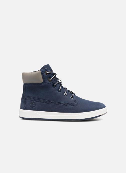 Stivaletti e tronchetti Timberland Davis Square 6 Inch Boot Azzurro immagine posteriore