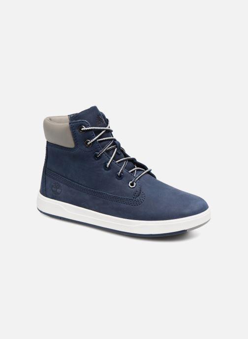 Bottines et boots Timberland Davis Square 6 Inch Boot Bleu vue détail/paire