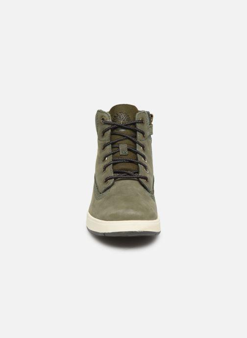 Bottines et boots Timberland Davis Square 6 Inch Boot Vert vue portées chaussures