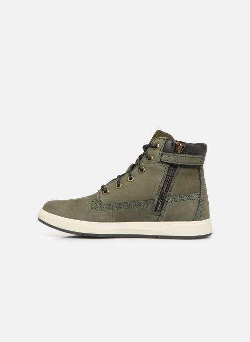 Boots en enkellaarsjes Timberland Davis Square 6 Inch Boot Groen voorkant