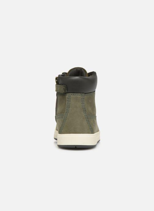 Boots en enkellaarsjes Timberland Davis Square 6 Inch Boot Groen rechts