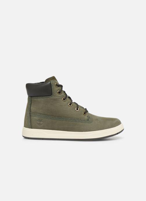Boots en enkellaarsjes Timberland Davis Square 6 Inch Boot Groen achterkant