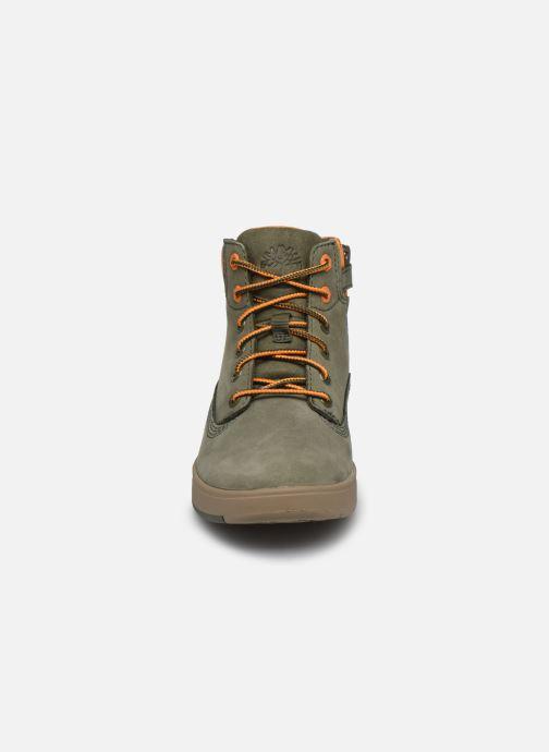 Stiefeletten & Boots Timberland Davis Square 6 Inch Boot grün schuhe getragen