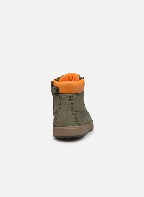 Stiefeletten & Boots Timberland Davis Square 6 Inch Boot grün ansicht von rechts